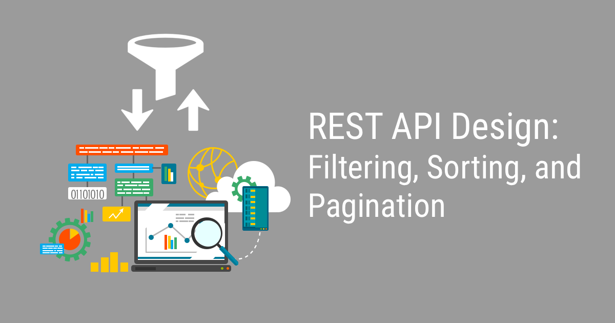 rest api design filtering sorting and pagination